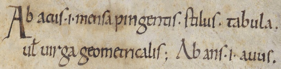 Opening to BL, Harley 3376